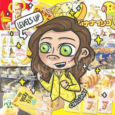 """@cyrilliart: """"Hellooo everyone~ I'm back from my 2 weeks away in Japan !! Had so much fun abroad and wOW, Japan, I am thoroughly impressed by the amount of banana things you have :O Harry and I felt so at home"""""""