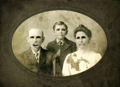 Creepy Old Time | ... add a few felt bats, some creepy family portraits and lots of candles