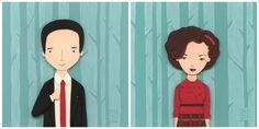 Nerd Love: Twin Peaks by renton1313.deviantart.com on @DeviantArt