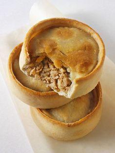 Meat pies!! Edinburgh, Scotland