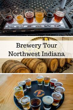Visiting the Northwest Indiana breweries on the South Shore Brewery Trail is a popular weekend activity.