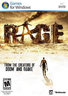 Rage Game Review: Rage is a 1st person shooting video game. It was developed by id Software. The game uses the company's OpenGL, which is based on id Tech 5 engine. Rage has been released in the month of October, 2011. It was the  1st which had shown as a tech demo on 11th of June,   Free Full Game Rage 2011 Download LINK:   Full Version Rage 2011 PC Game Download Free,