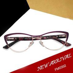 772b71373ae Tracy Cat Eye Purple Glasses FM0352-01 Prescription Glasses Online