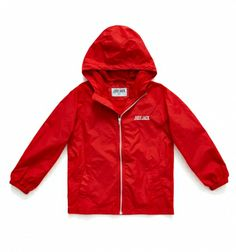 Classic red boys' windcheater - Image Classic red