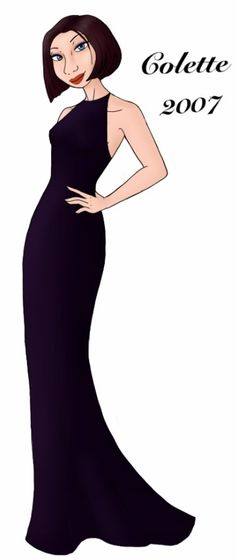 Colette designer gown by ruletheworldwithsong on DeviantArt Ratatouille Disney, Ratatouille 2007, Modern Princess, Designer Gowns, Disney Style, Girl Hairstyles, Beautiful Dresses, Daughter, Disney Princess