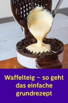 Massa de waffle - esta é a receita básica simples - Kuchen rezepte - Cookie Recipes From Scratch, Easy Cookie Recipes, Chocolate Cookie Recipes, Peanut Butter Cookie Recipe, Food Cakes, Cake Decorated With Fruit, Best Pancake Recipe, Homemade Cake Recipes, Pudding Desserts