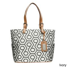 Nine West Heirloom Tote Bag | Overstock.com Shopping - Great Deals on Nine West Tote Bags