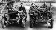 [Photo] Heavily armed and specially modified jeep of British L Detachment SAS, North Africa, early photo 4 of 5 Schwer bewaffneter und speziell modifizierter Jeep der British L Detachment SAS, Nordafrika, Anfang Foto 4 von 5 Military Jeep, Military Vehicles, Military Photos, Military History, Afrika Corps, North African Campaign, Shot In The Dark, Old Jeep, Jeep 4x4