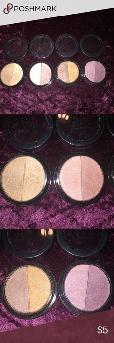 Elf eyeshadows Warm and cool toned eyeshadow duos ELF Makeup Eyeshadow