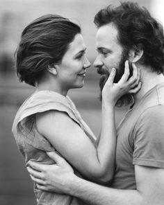Maggie Gyllenhaal & Peter Skarsgard by Bruce Weber