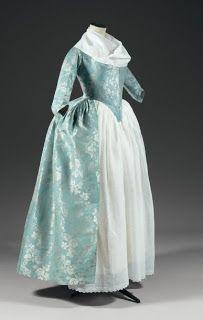 .História da Moda.: Robe a L'Anglaise, Parte 2: Referências e Finaliza...