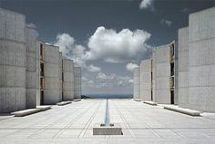 Salk Institute designed by Architect Louis Kahn