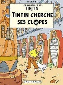 Tintin cherche ses clopes