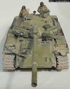 Tamiya 1/35 Т-62М, Афганистан