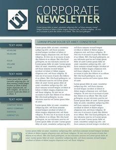 Newsletter ExamplesTemplate Newsletter  Newsletter Template