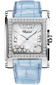 Chopard Happy Sport II Square XL 288448-2001 blue