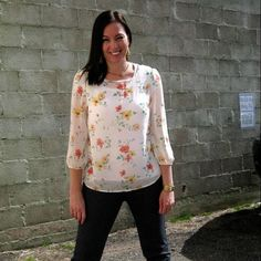 Ivory floral blouse. Only $26. Come in today or call to order. 801.763.2700. #floralblouse #ivory. #ourlittlestoreboutique #utahboutiques #utahfashions #ootd #wiw #fashionable #feelgood #ordernow #weship 801.763.2700 #leaveemail&we'llpaypalinvoiceyou #outfit #details #accesorize @ourlittlestoreboutique #utahfashion #tellafriend #americanfork #utah #shopsmall #beyou #seeyousoon