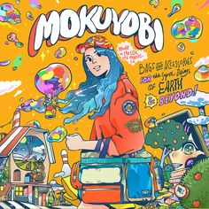 "查看此 @Behance 项目:""MOKUYOBI Collaboration Poster""https://www.behance.net/gallery/44835555/MOKUYOBI-Collaboration-Poster"