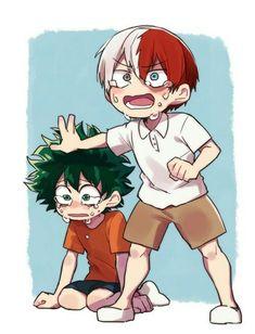 If they were friends when Bakugou was bullying Midoriya in episode 1