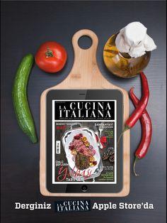 Türkiyenin En Yeni Yemek Dergisi LA CUCINA ITALIANA Apple Store'da... https://itunes.apple.com/us/app/la-cucina-italiana/id575496573?mt=8