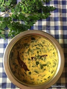 Muringayilla (Drumstick leaves) recipes are always a big yes to our family. The only drawback is getting fresh leaves in hand unless you h. Rice Recipes, Indian Food Recipes, Cooking Recipes, Ethnic Recipes, Indian Pickle Recipe, Moringa Recipes, Moringa Leaves, Curry, South Indian Food