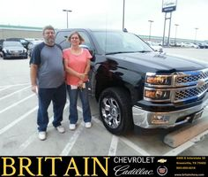 https://flic.kr/p/ABEEGB | Congratulations James on your #Chevrolet #Silverado 1500 from Mike Donahoe at Britain Chevrolet Cadillac! | deliverymaxx.com/DealerReviews.aspx?DealerCode=I827