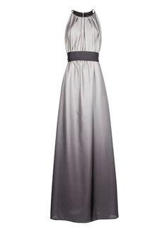 MANGO - Vestido largo degradado