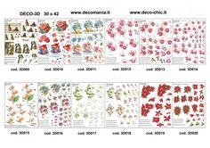 Nuova collezione DECO 3D serie 2 per il decoupage tridimensionale. store online: http://www.deco-chic.it/index.php?main_page=index&cPath=56_94_99