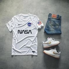 Nasa x Air force lol [Pretty sure I saw this on here before] : Sneakers