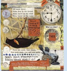 Lynda Barry collage Lynda Barry, Creative Inspiration, Journaling, Illustration Art, Collage, Scrapbooking, Ideas, Notebooks, Atelier