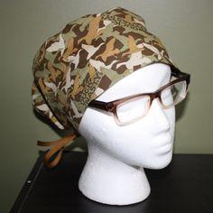 Duck Dynasty Surgical Scrub Hat by FourEyedCreations on Etsy, $15.00