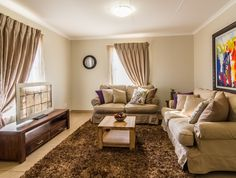 Thatch Hill Estate 2 and 3 Bedroom apartments in Alberton Rental Property, Property For Sale, 3 Bedroom Apartment, Property Development, Apartments, Curtains, House, Home Decor, Blinds