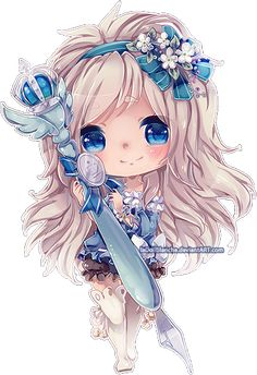 ♤ Beautiful Anime Art ♤ Chibi