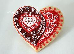 My little bakery :): Big heart cookies     http://cakecreationsforyou.blogspot.com/