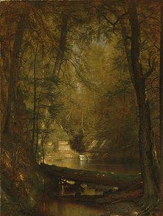 Worthington Whittredge: The Trout Pool (21.115.4)   Heilbrunn Timeline of Art History   The Metropolitan Museum of Art