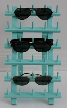 Hand painted sunglass holder by Zolou on Etsy, $25.00