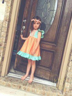 Rosa Flamenco Aria 5/6 Aries, Kid Styles, Summer Dresses, Closet, Fashion, Pink, Flamenco, Summer Sundresses, Moda