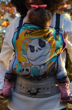 Nightmare Before Christmas (Customized - hand painted by Jacky's Artbox) TULA BABY CARRIER