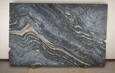 Walker Zanger | Cafe Argento Leather Marble Slab