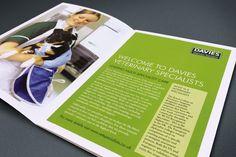 Davies vets brochure design @satcreative