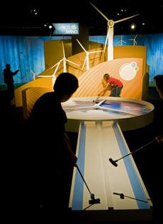 A new Museum Science   Industry exhibit 'Powerful: African Americans Energy' features miniature golf course will help Chicagoans learn