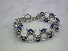 Hodo Chainmaille Bracelet by CWcreations1 on Etsy, $25.00