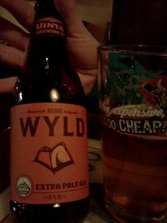 Uinta Brewing- Wyld Extra Pale Ale