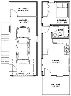 Single Car Garage With Apartment Above