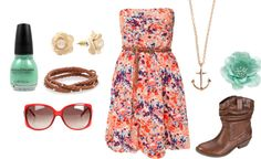 """Summer!"" by lorlorgirl on Polyvore"