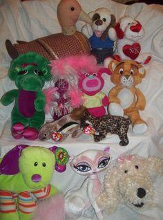 Stuffed Animal Wholesale Lot 12 Ty Baby Bop Bratz Dog Duck Lion Cat Plush | eBay