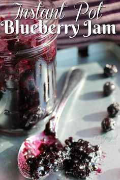 If you are looking for an easy blueberry jam recipe that is yummy this is it. From my stash of easy Instant Pot recipes this is a family favorite!
