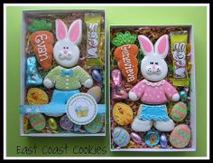 Candy dispenser set designed by montreal by plasticsinprint easter cookies made from collectible 3 piece bunny cookie cutter so cute negle Gallery