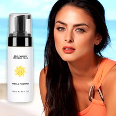 Hey Bronzed Beauties -- for a safe sun-kissed glow use our Self-Tanning Bronzing Foam!