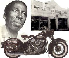 """The man who built on of the most famous bikes in the world, Ben Hardy … Ben Hardy, born Benjamin F. Hardy, was an African-American motorcycle engineer and chopper builder, who is best known for creating the customized choppers for the characters 'Captain America' and 'Billy' which featured in the 1969 Peter Fonda road movie Easy Rider, a movie which influenced more people to take an interest in motorcycles and choppers than any other. The """"Captain ..."""
